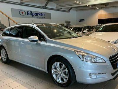 begagnad Peugeot 508 SW 1.6 THP Panorama Delskinn Automat 2012, Kombi Pris 99 900 kr