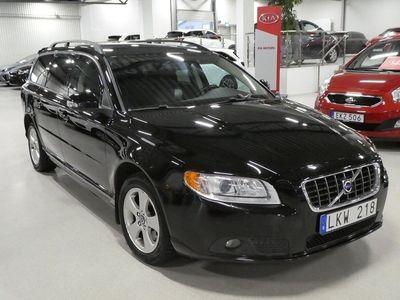 begagnad Volvo V70 2.0 Flexifuel Momentum 145hk