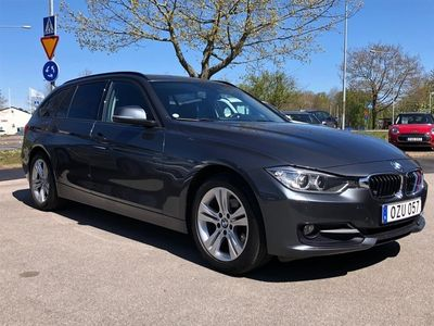 begagnad BMW 318 d xDrive Touring Sport Line HiFi Drag