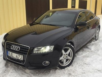 brugt Audi A5 Sportback 2.0 TFSI quattro (211hk)(rep-objekt)