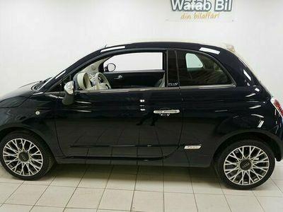begagnad Fiat 500C 500 C1.2 Lounge Vinterhjul 2010, Cab Pris 74 900 kr