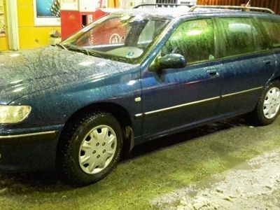 begagnad Peugeot 406 1,8l välv nykamrem drag 10000kr -03