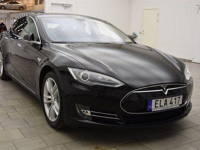 begagnad Tesla Model S P85+ / LÅGMIL / KOLFIBER / EN ÄGARE