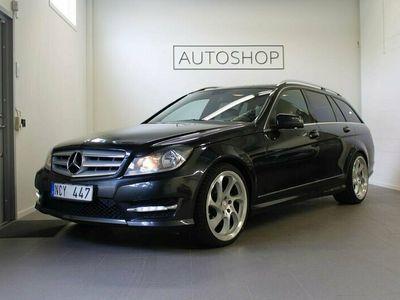 begagnad Mercedes C200 CDI 7 Plus AUT Avantgarde AMG Dragkrok