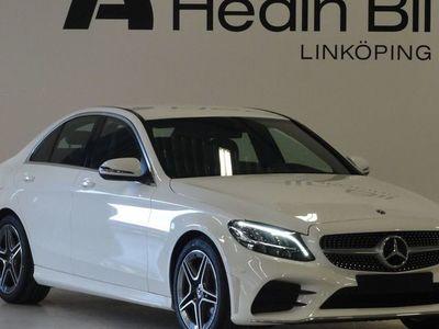begagnad Mercedes C220 d Sedan AMG Dragkrok Navigation Backkamera Apple-Carplay