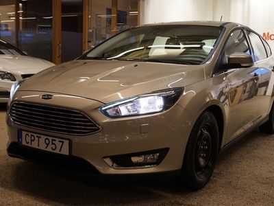 begagnad Ford Focus 1.0 125 Titanium II A 5-d 2017