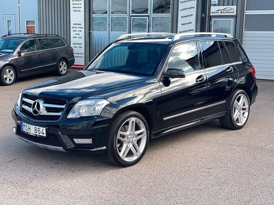 begagnad Mercedes GLK220 CDI 4MATIC AMG Sport