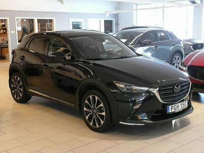 begagnad Mazda CX-3 Optimum 2.0 Automat S/S (121hk) SKINNKLÄDSEL