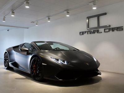 begagnad Lamborghini Huracán LP-610 Spyder SENSONUM