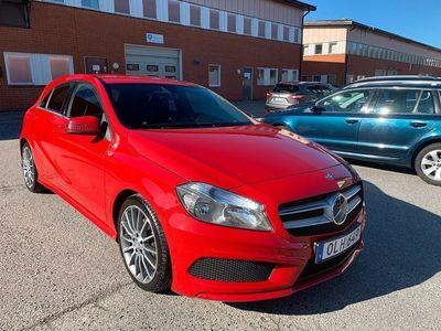 begagnad Mercedes A200 CDI 136hk AMG Sport Nyservad