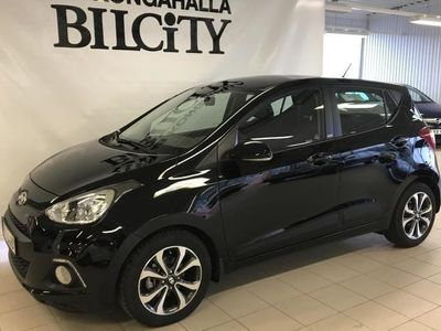 begagnad Hyundai i10 1,0GDi BlackLine 2016, Halvkombi 97 900 kr