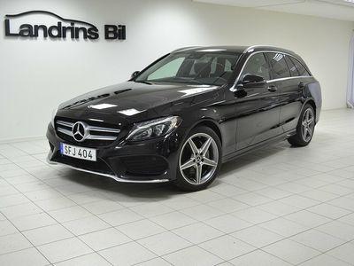brugt Mercedes 220 C-KLASS4MATIC 9G-Tronic AMG Sport Euro 6 170hk