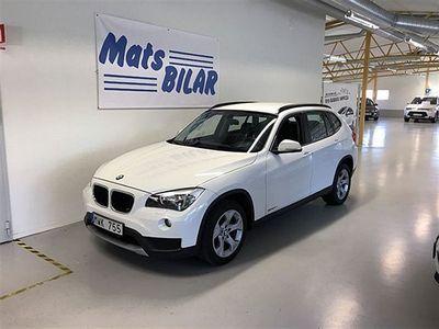 begagnad BMW X1 2,0d 184 Hk Sdrive Manuell Skinn 2wd