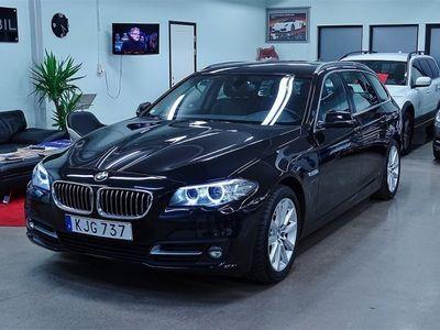 begagnad BMW 520 D xDrive, Dragkrok, Skinn -15