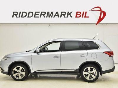 brugt Mitsubishi Outlander 2.2 Di-D 4WD 150hk 7-SITS SKINN DRAG