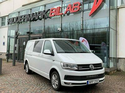 begagnad VW Transporter Kombi 4Motion Aut 204hk D-värm Lång