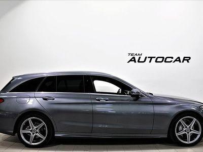 używany Mercedes C220 T d 9G-Tronic AMG Sport, Comfortline Euro 6 170hk