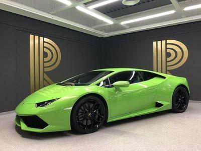 begagnad Lamborghini Huracán Huracán(610hk) Verde Mantis / LDS / Navi