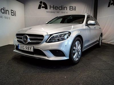begagnad Mercedes C200 D Kombi / Dragkrok / Navi