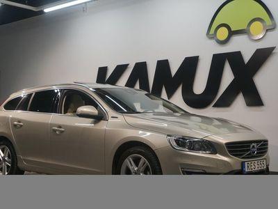 begagnad Volvo V60 D6 AWD Hybrid Summum Taklucka Navi 298hk