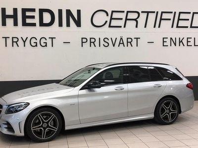 begagnad Mercedes 220 C Benz CAMG NIGHT EDITION DRAG NAVI 2020, Kombi Pris 364 900 kr