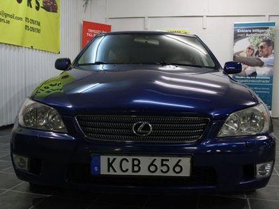 begagnad Lexus IS200 2.0 Automat 155hk