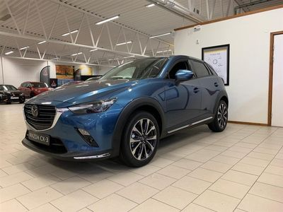 begagnad Mazda CX-3 M6 2.0 Optimum 121 hk