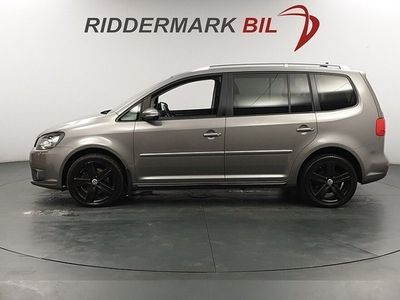 begagnad VW Touran 2.0 TDI 170hk 7-SITS NYBESIKTIGAD DRAGKROK