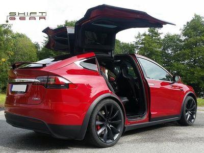 begagnad Tesla Model X *SÅLD - FLER FÖRMEDLAS* salu