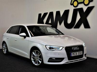 begagnad Audi A3 Sportback 2,0TDi | M-Värmare | Drag | 184 hk