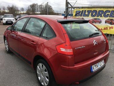 begagnad Citroën C4 1.6 5D A/c 10000mil 0% Ränta -09