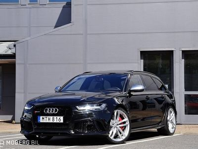 begagnad Audi RS6 4.0 TFSI V8 560hk Dynamik Pano BOSE