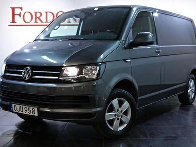 begagnad VW Transporter 2,0 TDI DSG 150HK FJÄRRVÄRMARE