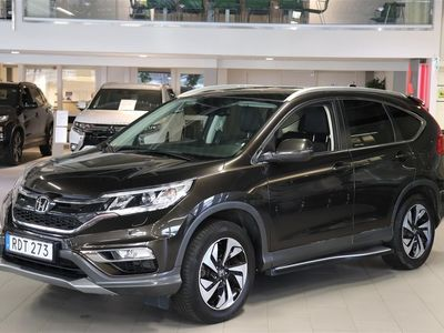 begagnad Honda CR-V 1.6 i-DTEC 4WD Executive 160 Hk Au -16