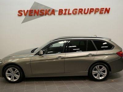 begagnad BMW 318 d xDrive Sport line Euro6 Drag LM S+V-Hjul