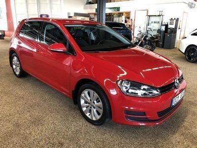 begagnad VW Golf 5-dörrar 1.6 TDI 4Motion Styl -14