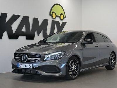 begagnad Mercedes 220 CLA Benzd 4M | AMG | Backkamera | Navi | D-Värm 2017, Sportkupé 264 900 kr