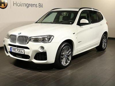 begagnad BMW X3 xDrive 30d M Sport Aut Panorama H&K