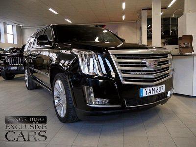begagnad Cadillac Escalade ESV PLATINUM 426hk Svenskså
