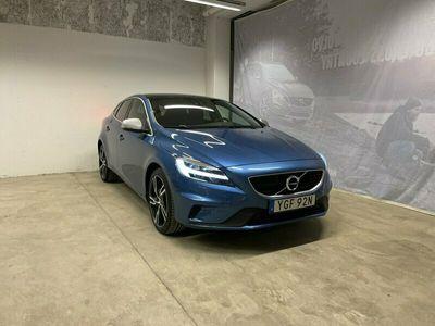 begagnad Volvo V40 T3 Aut R-Design Edt, Garanti 24 Månader, On Call, Klimatpaket, Parkeringssensor Fram/Bak + Kamera, Keyless Entry and Start