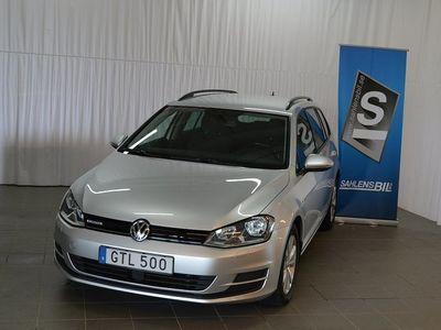 begagnad VW Golf Sportscombi 1.4 TGI CNG DSG Sekventiell Style Euro 6 110hk
