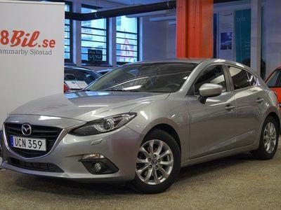 begagnad Mazda 3 Sport 2.2 SKYACTIV-D Aut NAVI 150hk Eu6