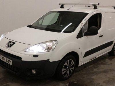 brugt Peugeot Partner 1.6 HDI 92HK Drag Momsbil Ac -11