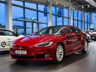 begagnad Tesla Model S 90D AWD Premium 7-sits Panorama