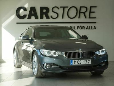 begagnad BMW 430 Gran Coupé d Luxury line Skinn Hifi Drag