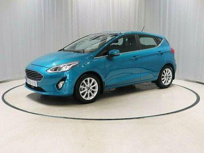 begagnad Ford Fiesta Automat Adaptiv Farthållare Sensorer
