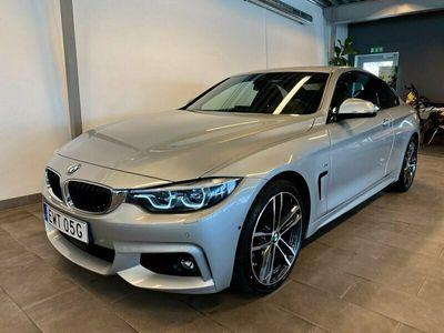 begagnad BMW 420 d xDrive Coupé M-Sport Navi Head-Up Drag HiFi Kamera