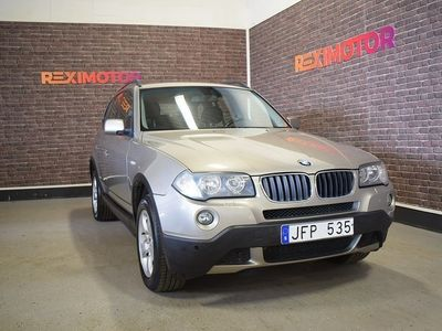 begagnad BMW X3 2.0d Comfort 150hk Ny Besiktad -07