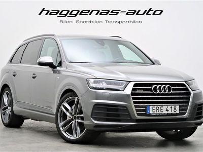 begagnad Audi Q7 3.0 TDI Quattro / S-line / 7-sits