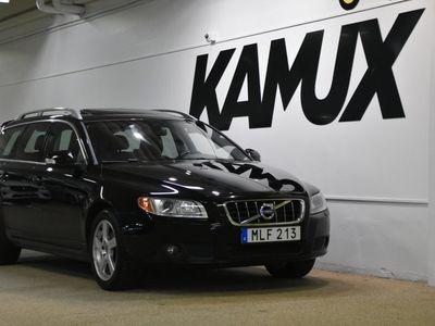 begagnad Volvo V70 D3 Geartronic Summum taklucka Drag SoV 163hk 2011